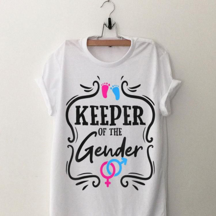 Keeper Of The Gender Reveal Party Baby Shirt Gender Reveal Party Gender Reveal Party Theme Twin Gender Reveal