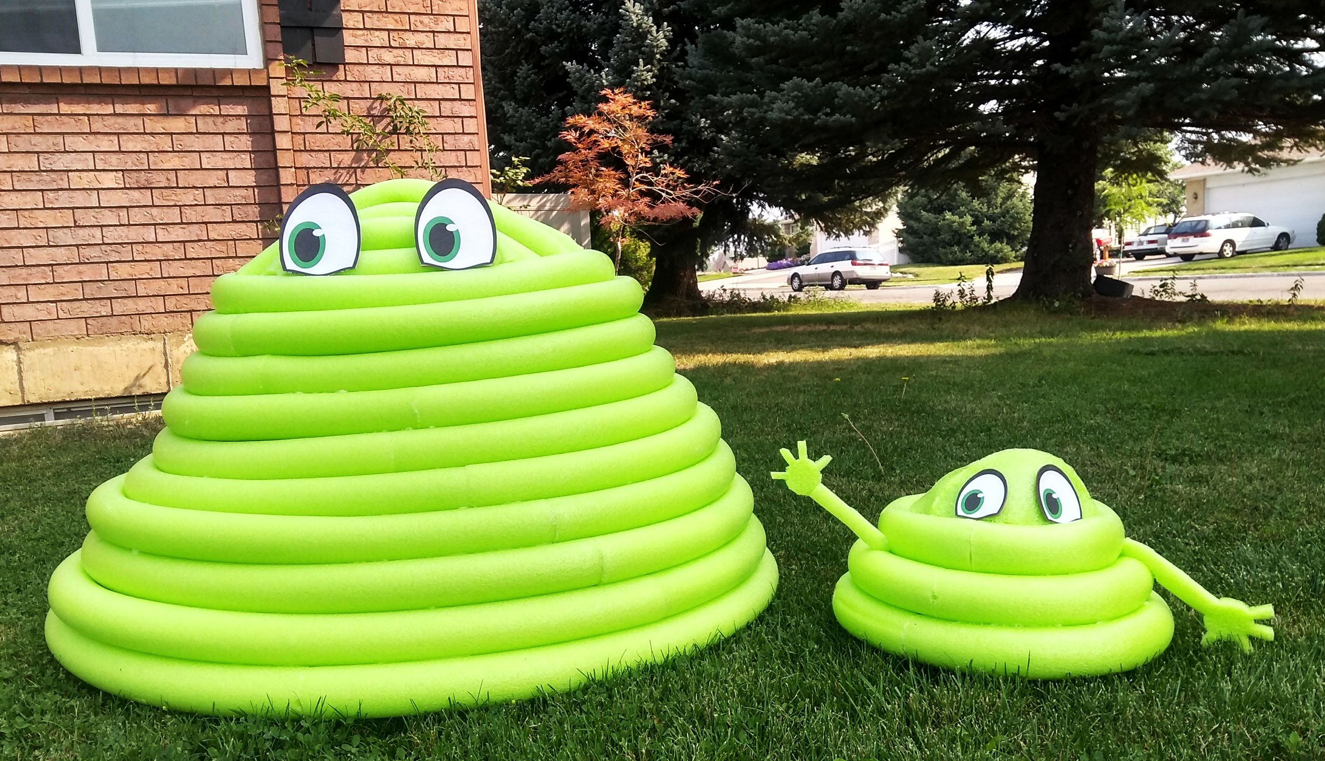 diy life size blobby from hotel transylvania my silly on favorite diy fall decorating ideas add life to your home id=39185