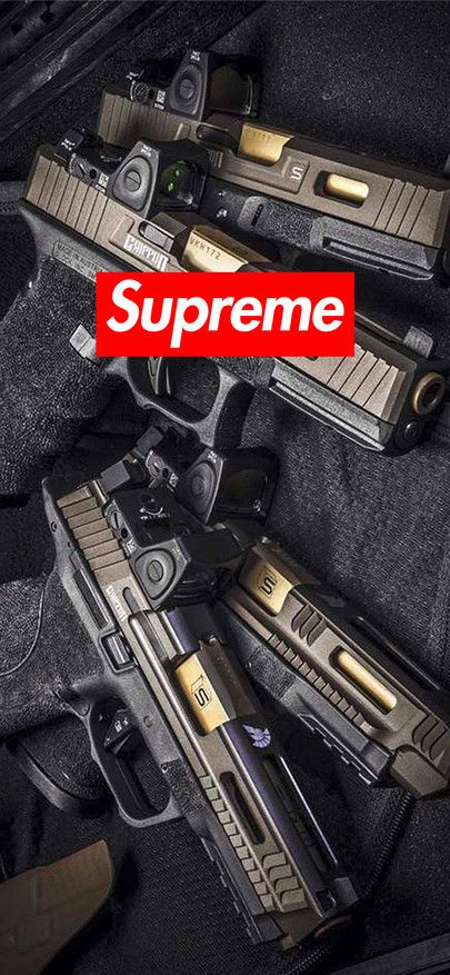 Download Wallpaper Iphone XS XR XS MAX Supreme Wallpaper firearms 1125 × 2436 - Free Wallpaper ...