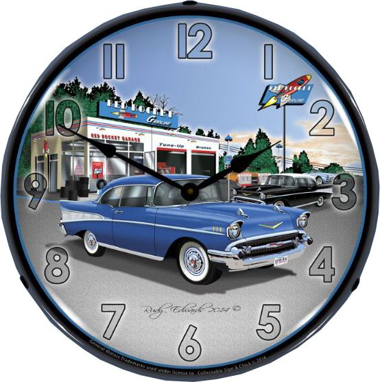 Pin On Chevrolet Clocks
