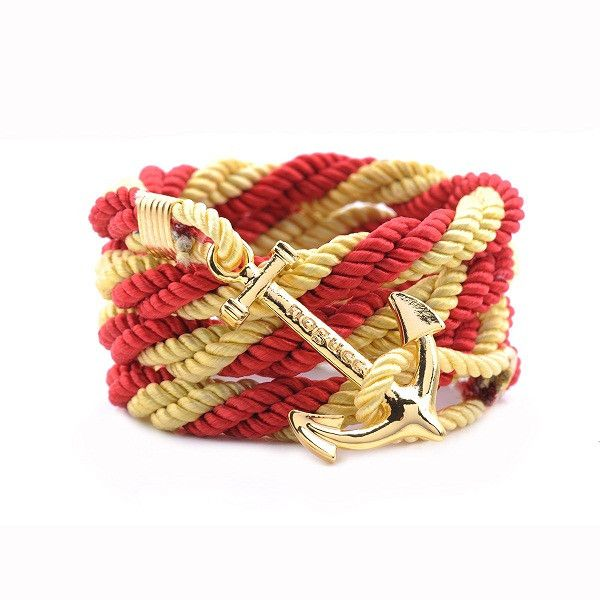 AlumniCrew Red /Gold Are you ready to rock your school colors in authentic Alumni Crew Style? The Joseph Nogucci Alumni Crew Bracelet Collection has brought the ancient symbolism of nautical exploration and turned it into a fashion statement that says a lot about the adventurer in you and is designed to make a splash by letting you flaunt your school spirit.  - See more at: http://www.josephnogucci.com/products/alumnicrew-red-grey#sthash.63HE3xWN.dpuf