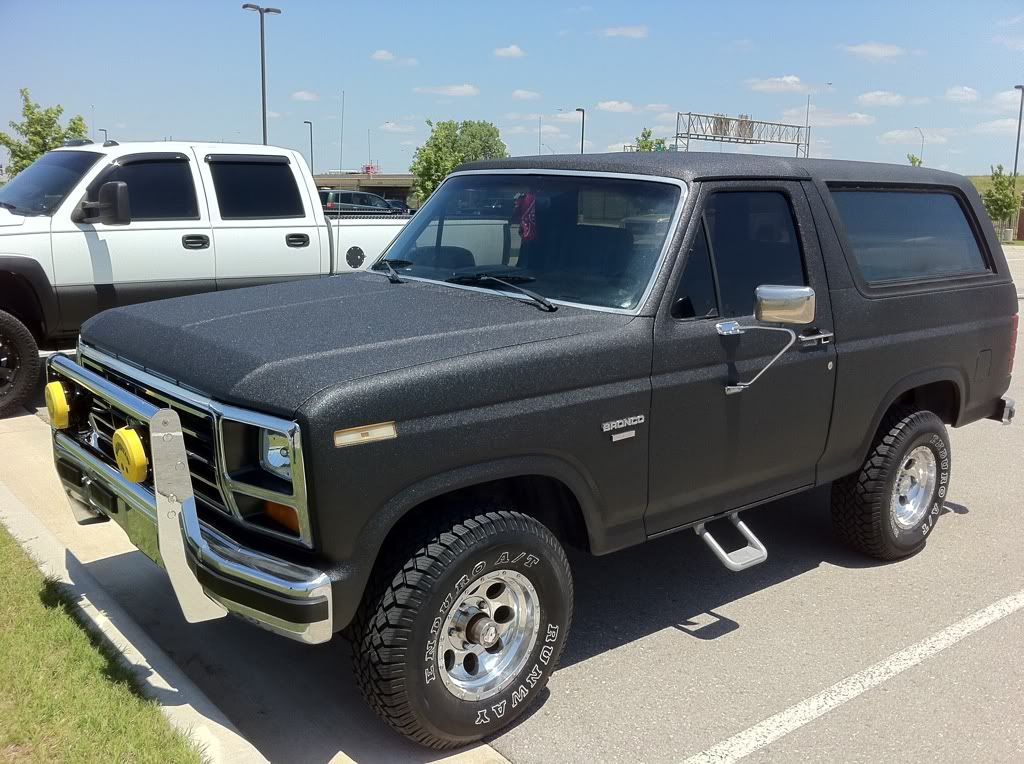 1985 Bronco Line X Paint Job Pics Page 2 Chevy And Gmc