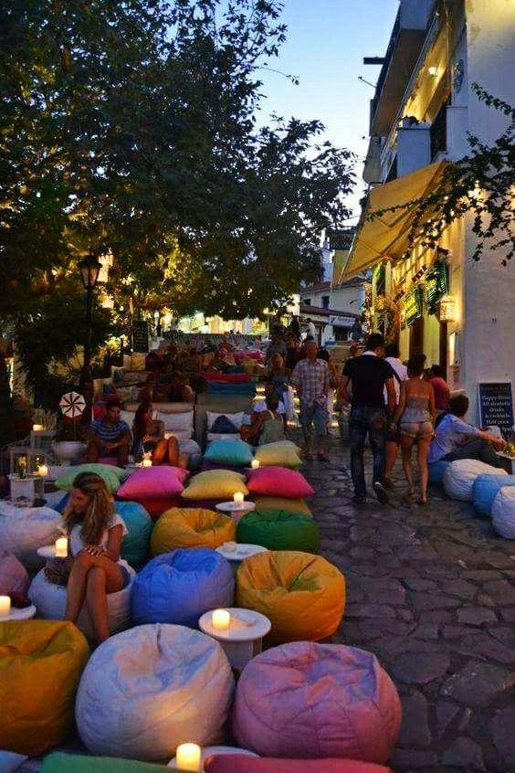 Night Time in Skiathos Greece