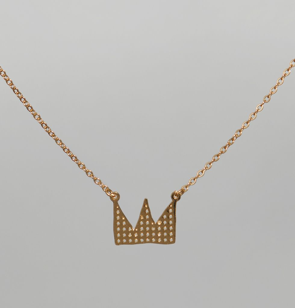 Alphabeta Gold Long Life Necklace on sale at L'Exception