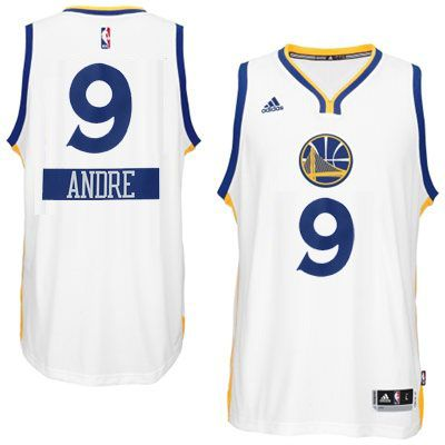 916de9476 2014-15 Christmas Day jersey Golden State Warriors 9 Andre Iguodala adidas  White Swingman Home Jersey