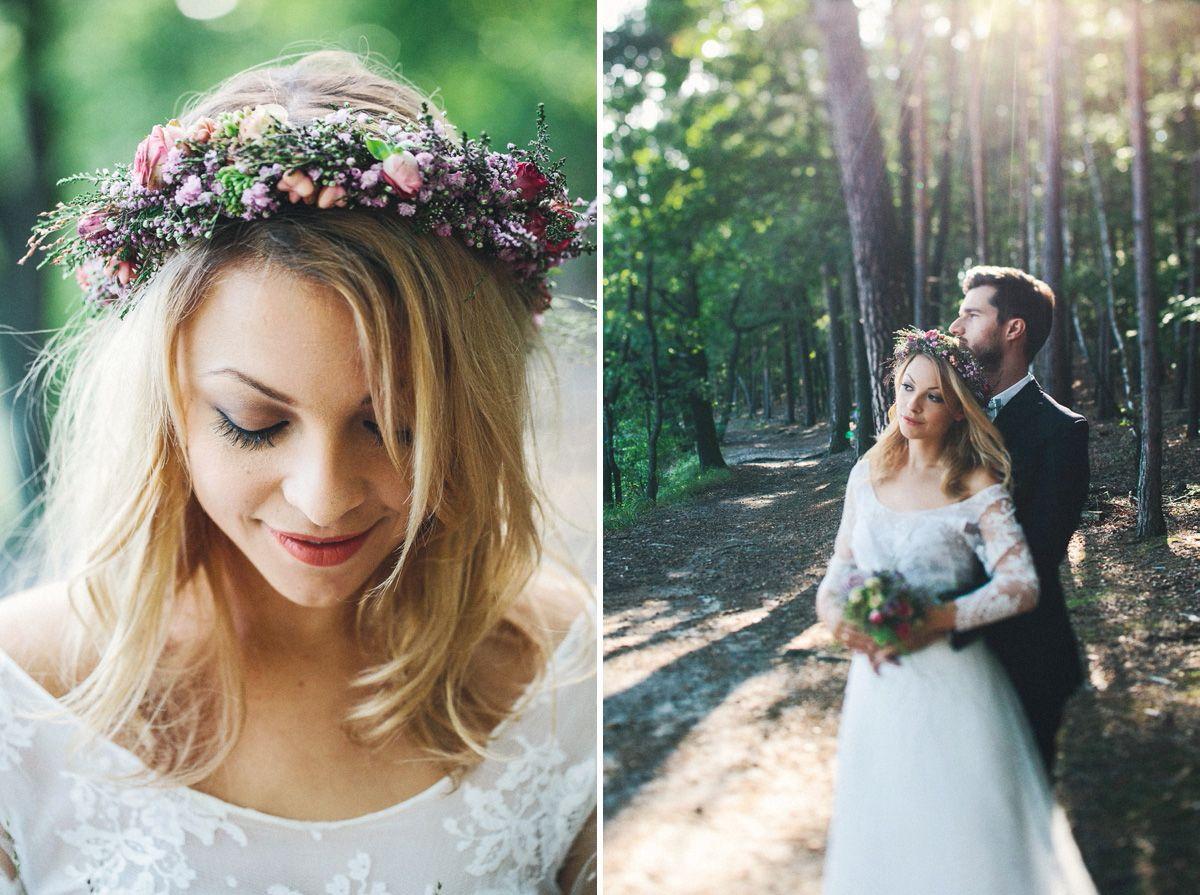 Spatsommerabend Am See Paul Liebt Paula Hochzeitsfotograf Blumenkranz Haare Hochzeit