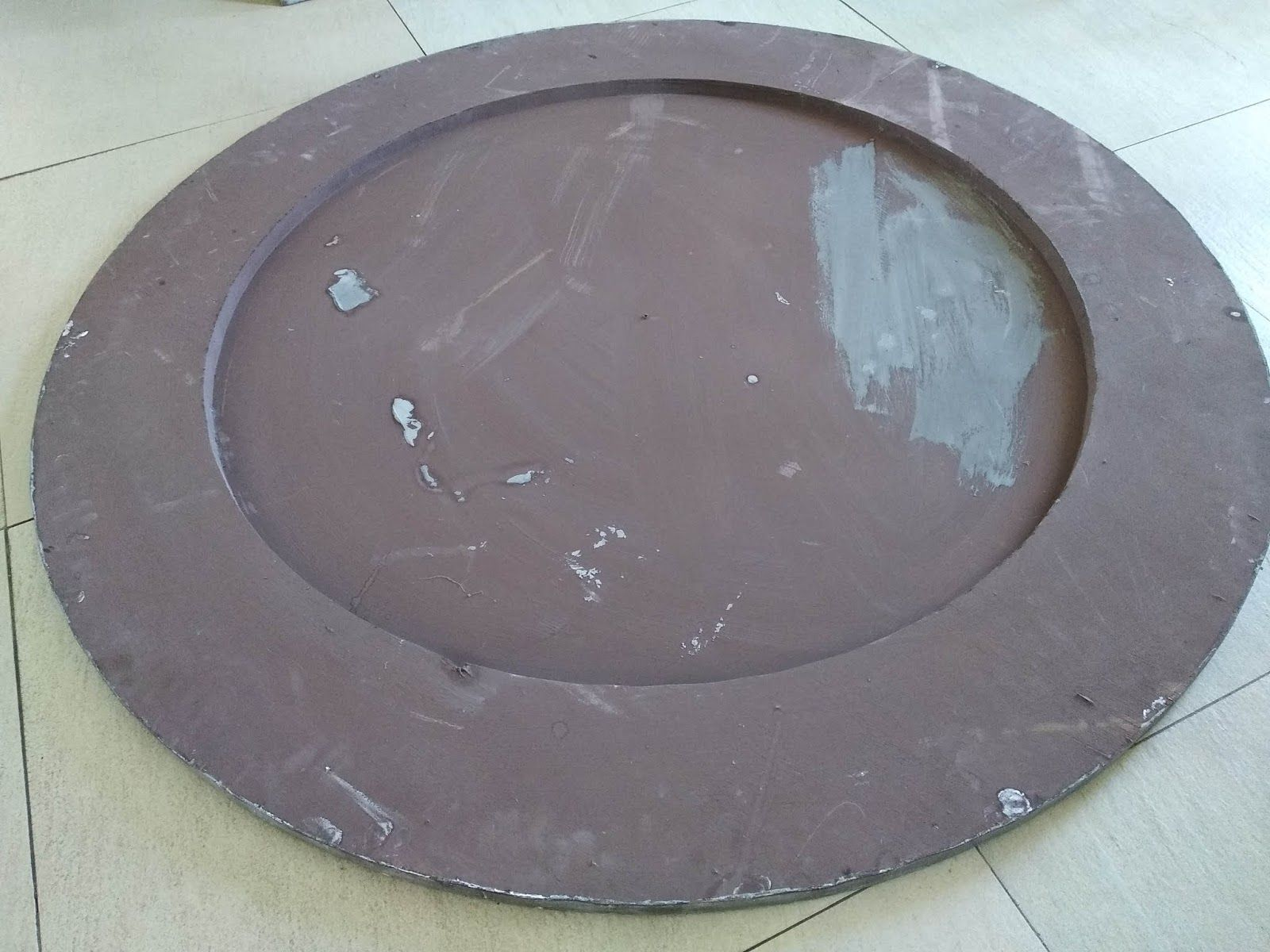 Oval Clock Face Farragoz How To Make A Large Clock Face For Under 30 New Apt