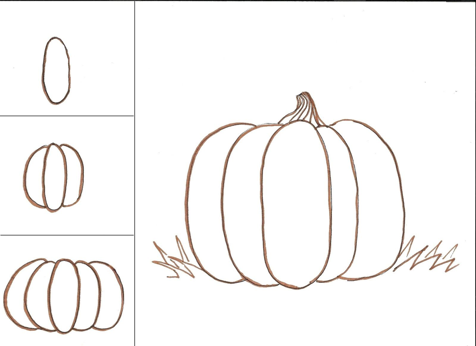 Uncategorized Drawings Of Pumpkins pumpkins art class ideas journal pinterest pumpkin my classes love to draw teach your an easy way make a somewhat rea