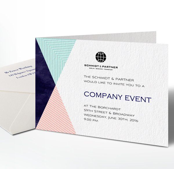 Paper Corporate Jpg 600 584 With Images Corporate Invitation