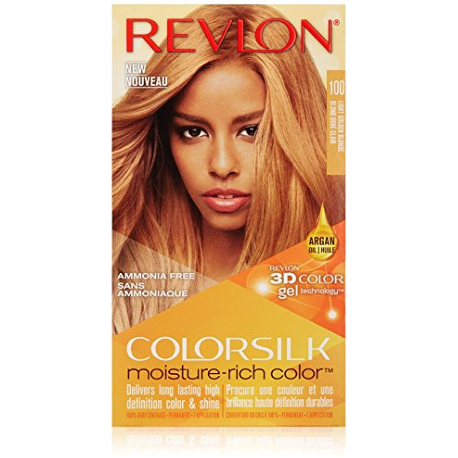 Revlon Colorsilk Moisture Rich Hair Color 100 Light Golden Blonde You Can Get More Details By Clickin Revlon Colorsilk Rich Hair Color Argan Oil Hair Color