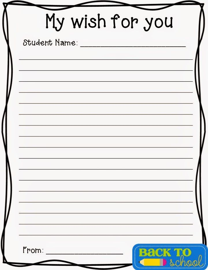 Get freebies for back to school night or meet the teacher night - contact information template