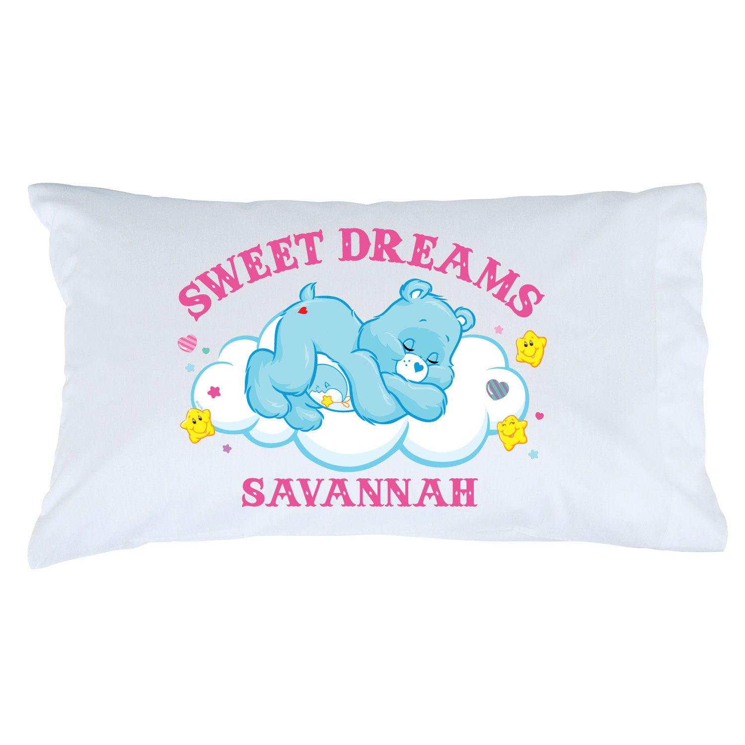 Care bears sweet dreams bedtime bear pillowcase care bears