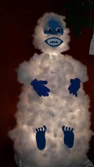 Our abominable snowman tree!