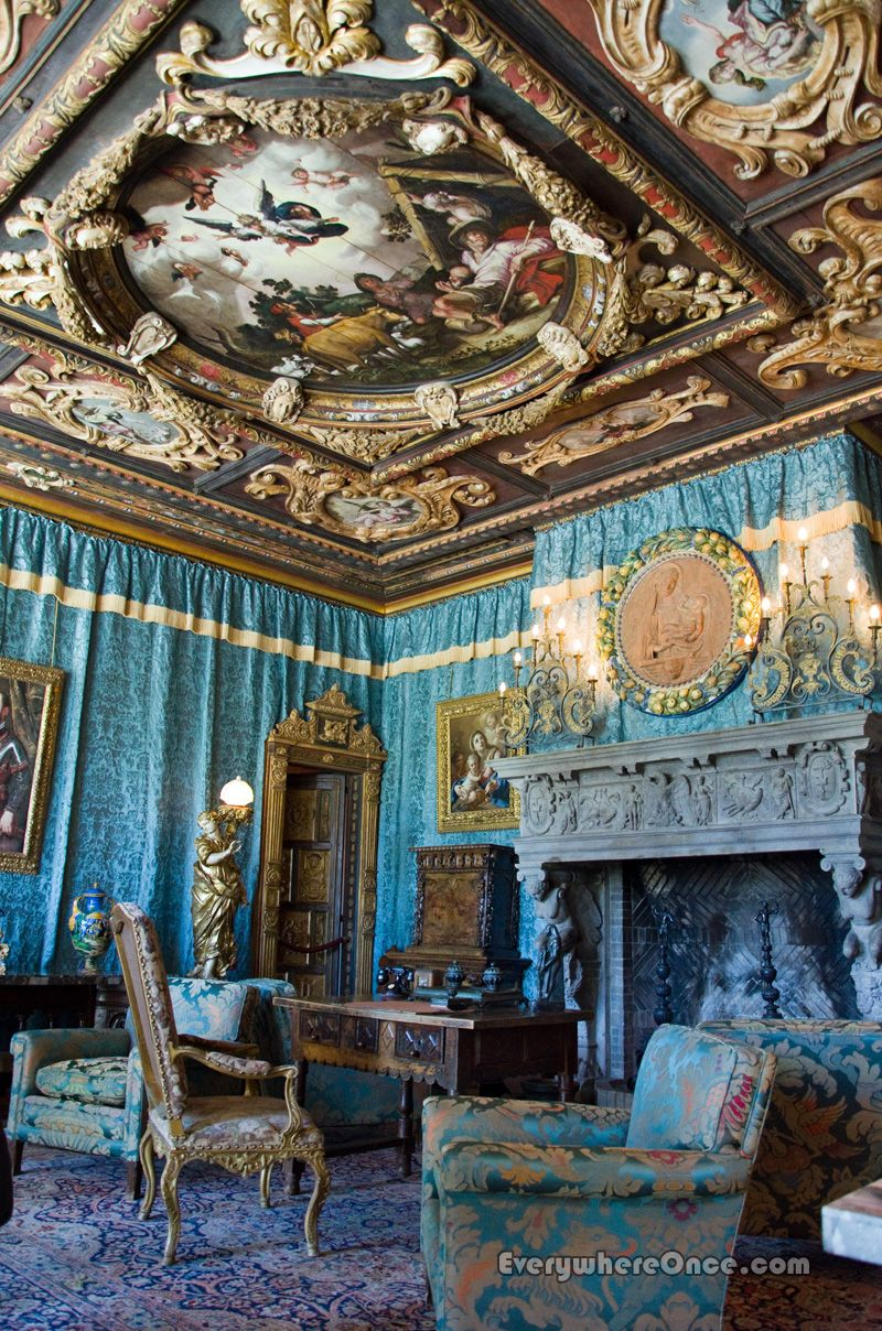 Rooms: The Doge's Room At Hearst Castle, San Simeon, California