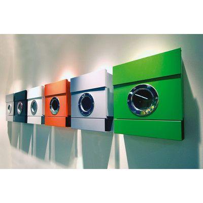 Radius design letterman wall mounted mailbox allmodern