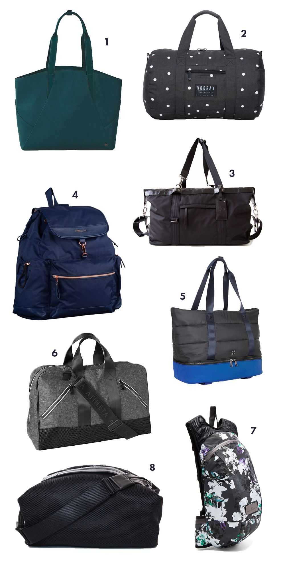 The most stylish and functional gym bags this fall 77af6a1f3