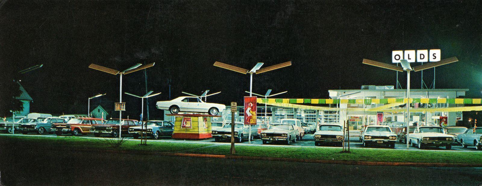 Loder Oldsmobile Co., Salem OR, 1967 Oldsmobile, Car