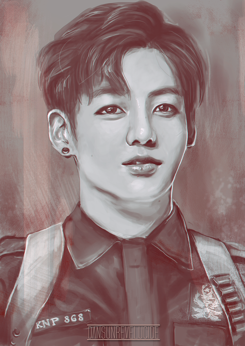 Jungkook Bts Drawings: Jungkook- Whoever Did This Is Super Talented