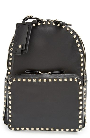 c1db6c0277 Valentino 'Medium Rockstud' Backpack available at #Nordstrom | Style ...
