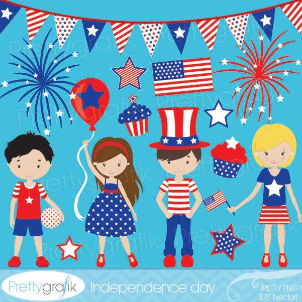 Independence Day Mygrafico Com Digital Clip Art Clip Art Image Paper