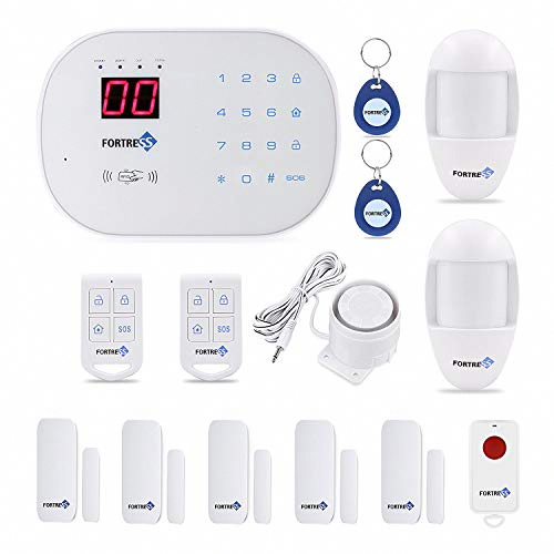 Compatible With Alexa App Controlled Updated S03 Wifi And Landline Security Ala Wireless Home Security Systems Best Home Security System Home Security Systems
