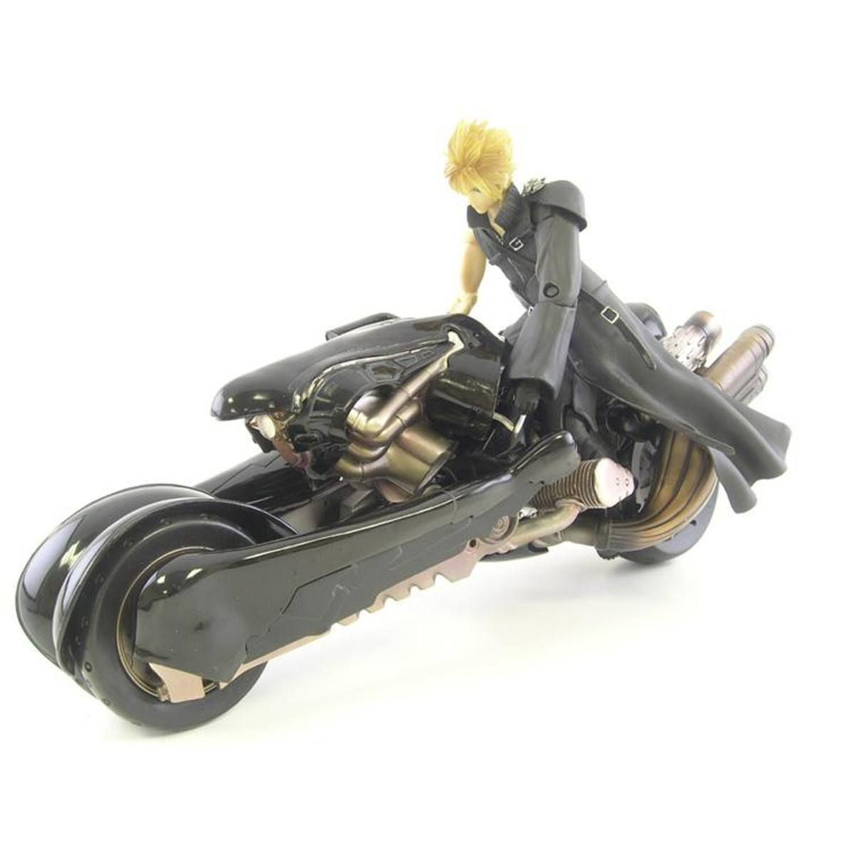 Final Fantasy Advent Children Cloud Strife And Fenrir Motorcycle