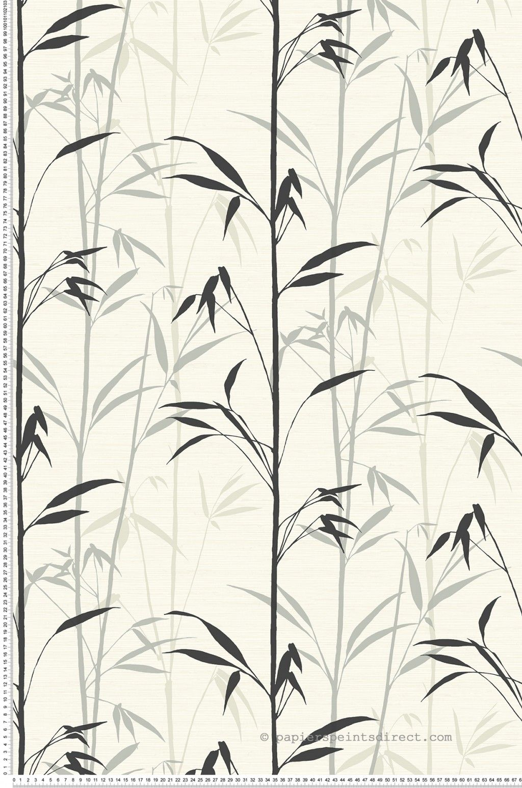 Branches de bambou blanc- Collection Chinoiserie dInitiales