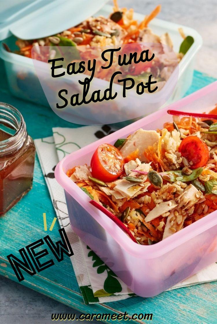 Easy Tuna Salad Pot in 2020 Easy tuna salad, Food to