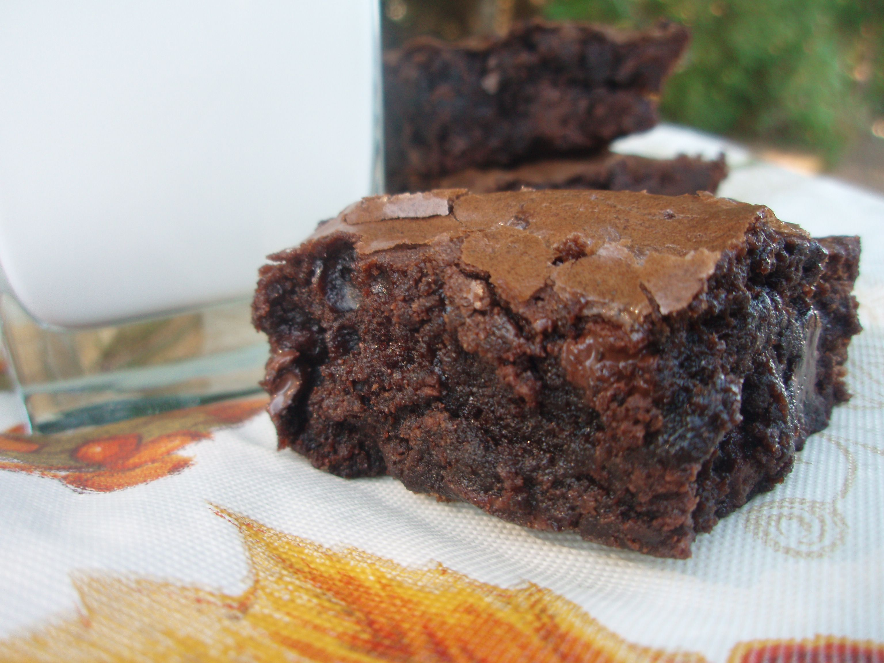 Low Fat Chocolate Cake Recipes From Scratch: Ultimate Double Chocolate Brownies