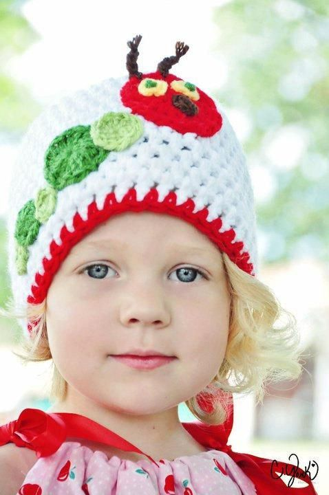 adb3eb9d5 The Hungry Caterpillar Hat Crochet Pattern - have to pay for pattern ...