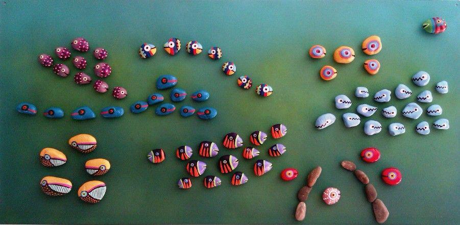Underwater Love interactive Painting by Mesekavics / Pandala Islands