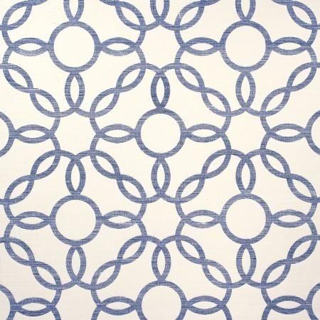 Philip Jeffries Rings Navy wallpaper, Grasscloth