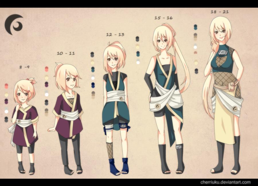 Anime Characters Age : Naruto oc timeline odoroki jun by cherriuku viantart