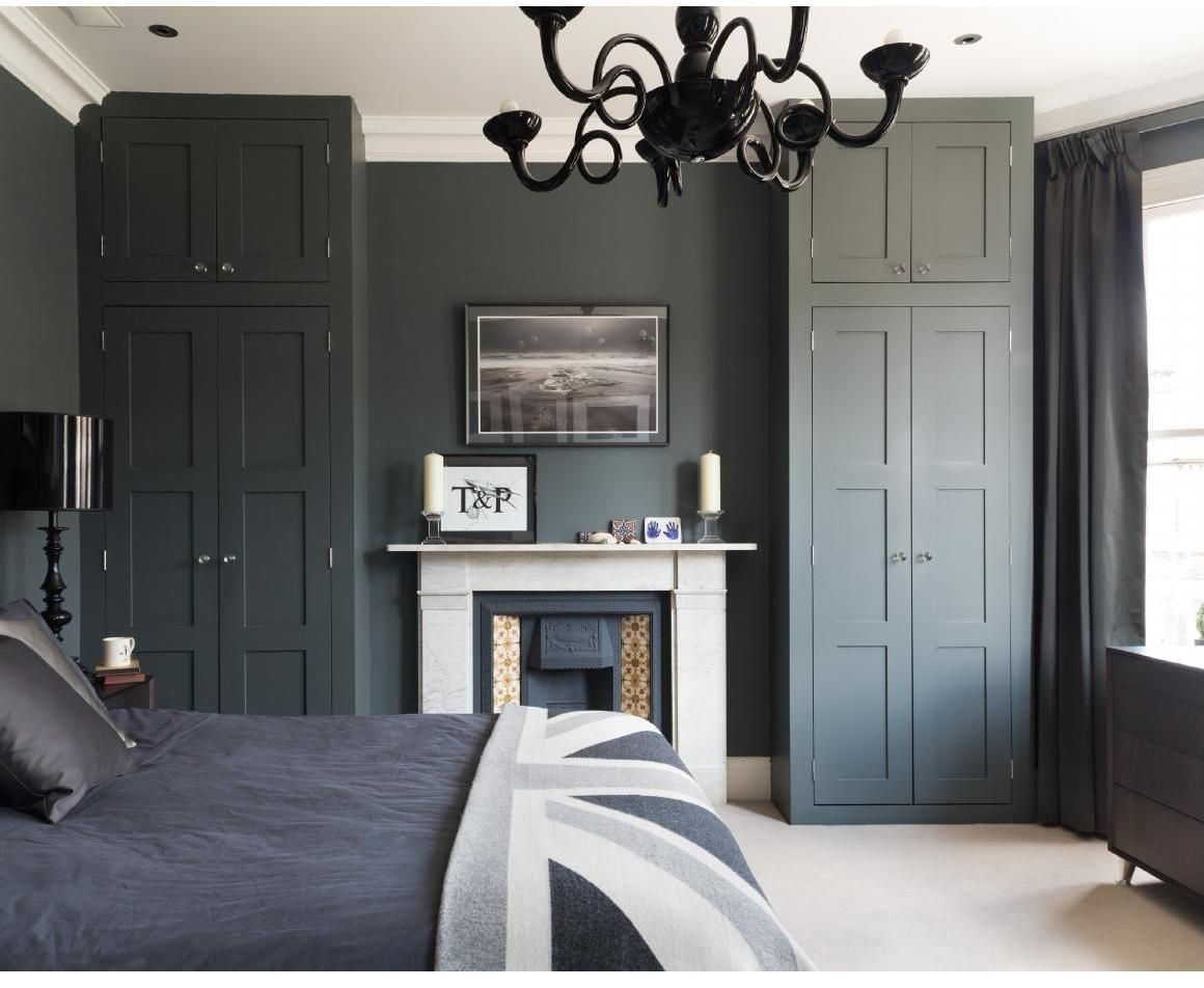 Loft bedroom fitted wardrobes  November   Industrial Modern and Interiors
