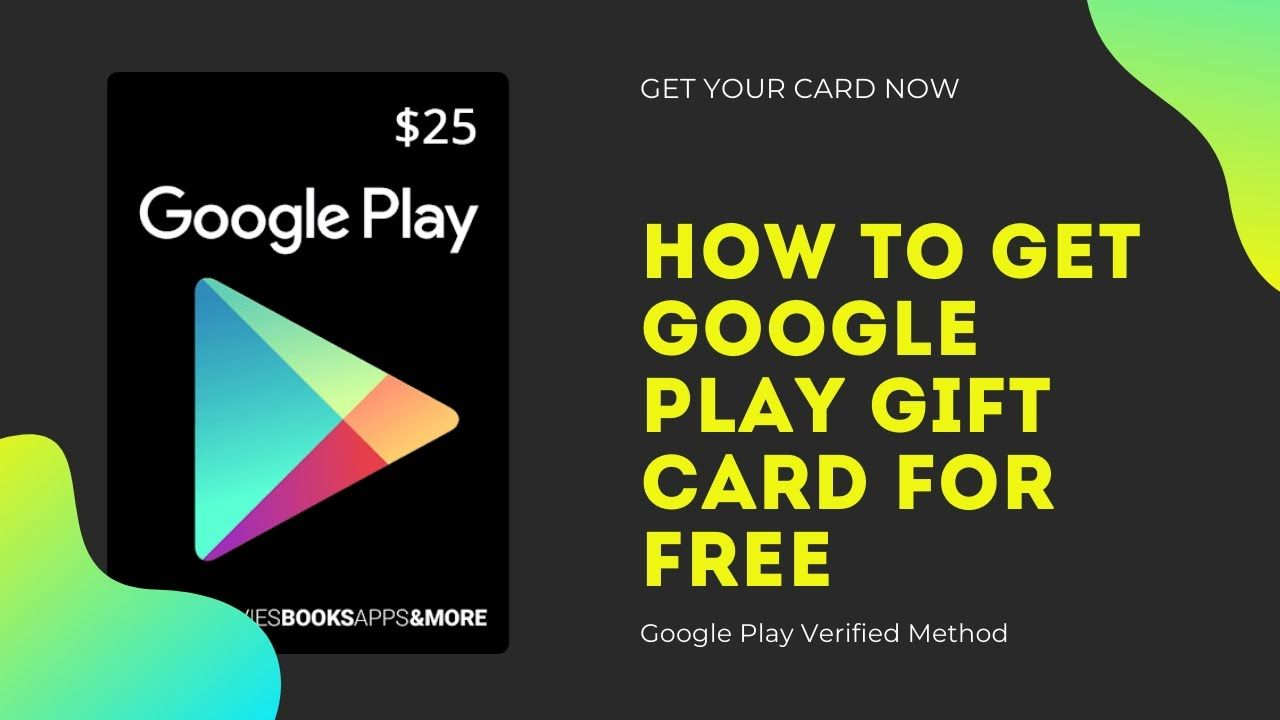 Free google play redeem code how to get free google play