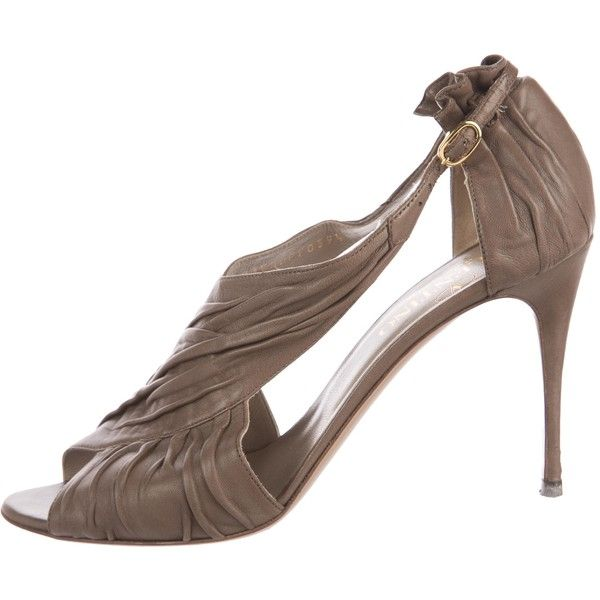 From China Free Shipping Low Price Cheap For Cheap Pre-owned - Brown Leather Heels Valentino 6HsIrbM3tw