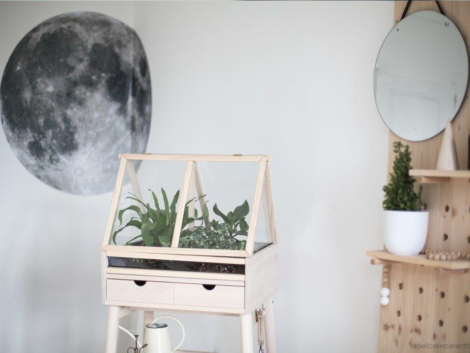 diy une mini serre dans mon int rieur site modes travaux pinterest mini serre serre. Black Bedroom Furniture Sets. Home Design Ideas