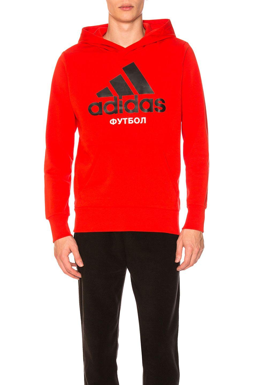 6ea764f12333 GOSHA RUBCHINSKIY x adidas Hooded Sweatshirt US 165