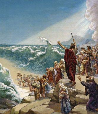 Exodus Red Sea Crossing. Exodus 14:16-17. 16 The Lord said ...