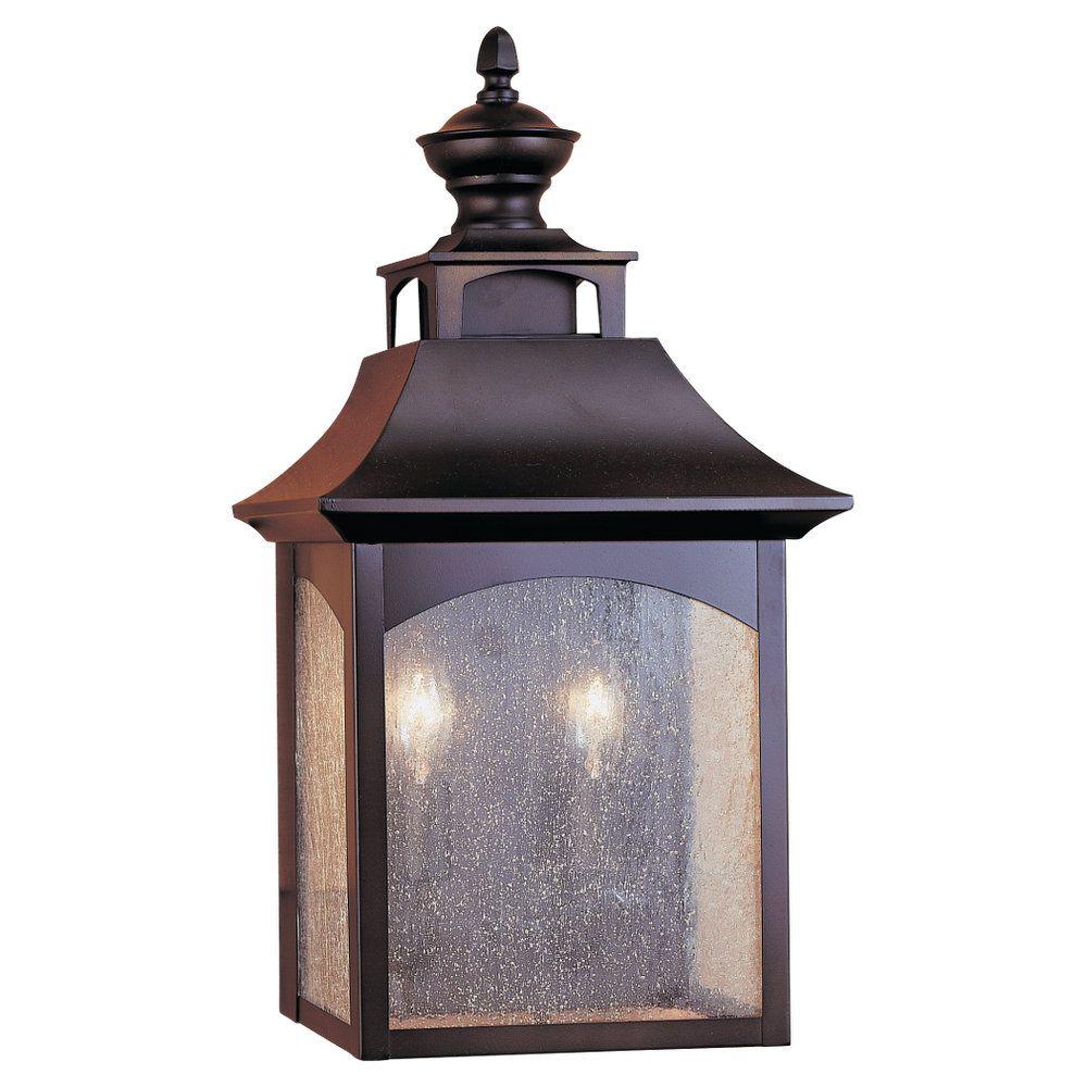 OL1003ORB,2 - Light Wall Lantern,Oil Rubbed Bronze