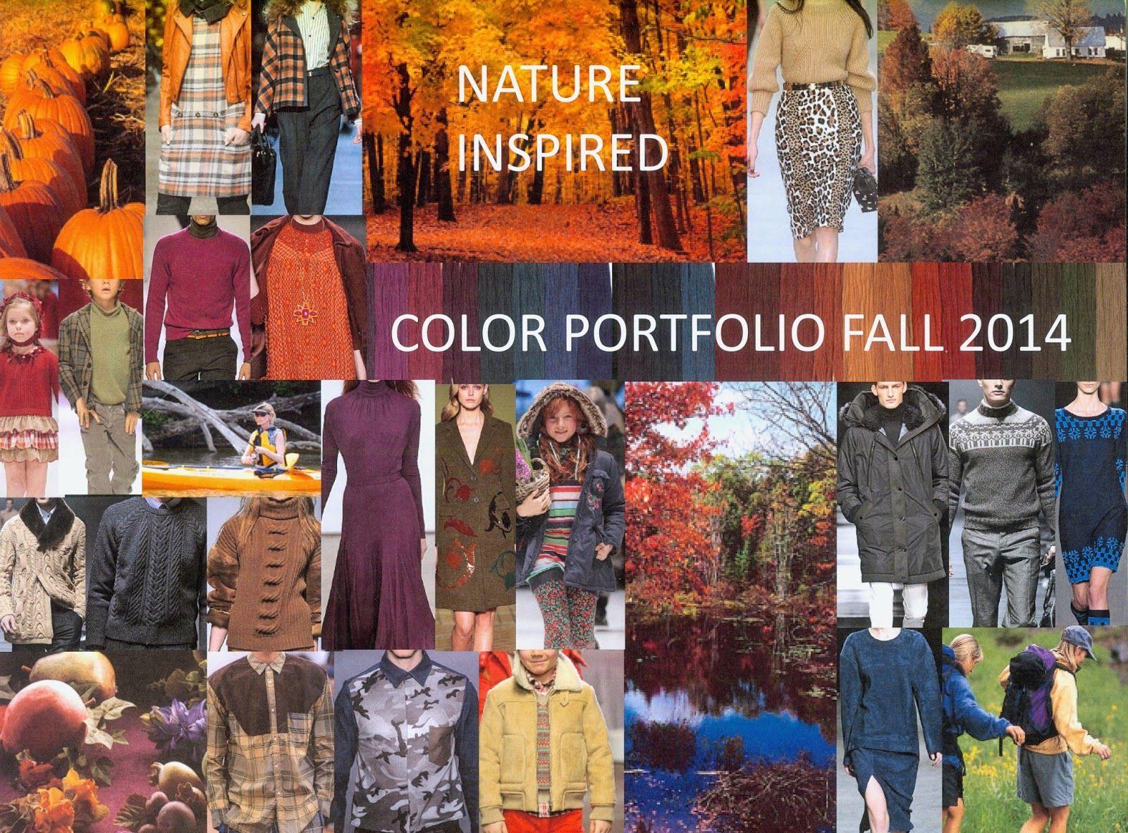 OPR (Overseas Publishers Representatives): Color Portfolio Autumn/Winter 2014-15 Color Forecast