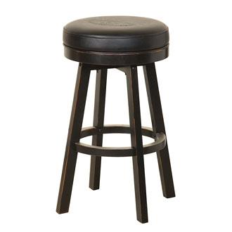 Jack Daniel S Wood Bar Stool Wood Bar Stools Bar Stools Wood Bars