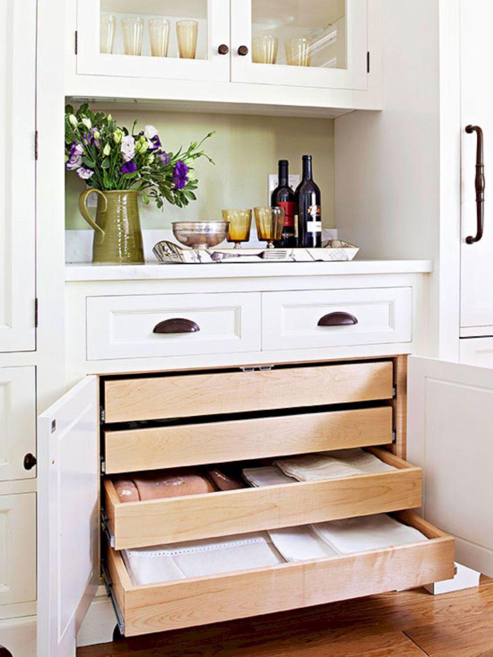 57 Smart Kitchen Cabinet Organization Ideas 57
