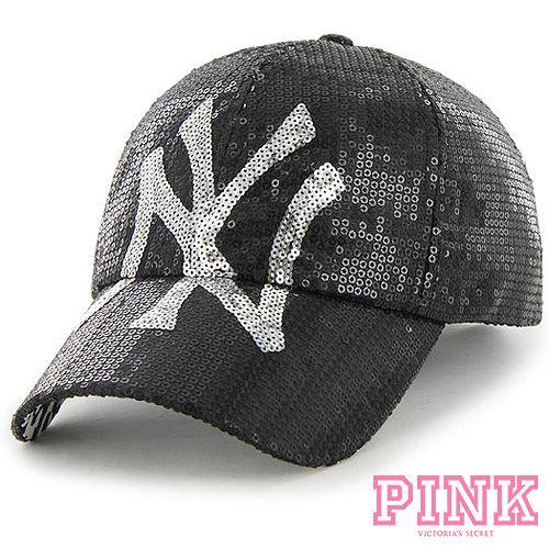 1e37695172e New York Yankees Victoria s Secret PINK® Women s Take Me Home Adjustable Cap  - MLB.com Shop I need this!!!