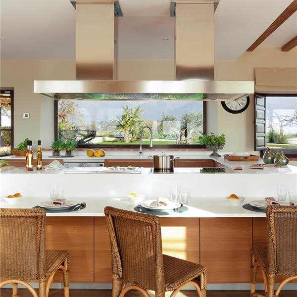 Sala de estar | Cocinas abiertas, Familias y Amigos