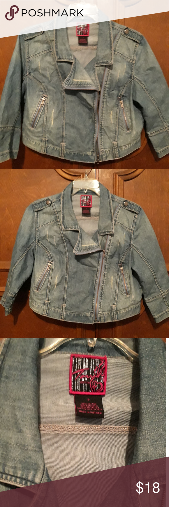 A Torrid Denim Jacket Fun And Cropped Style Denim Jacket Jackets Cropped Style [ 1740 x 580 Pixel ]