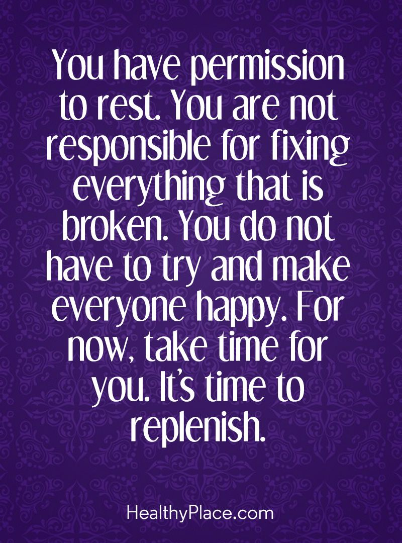 Positive Quote Amusing Positive Quote You Have Permission To Restyou Are Not Responsible