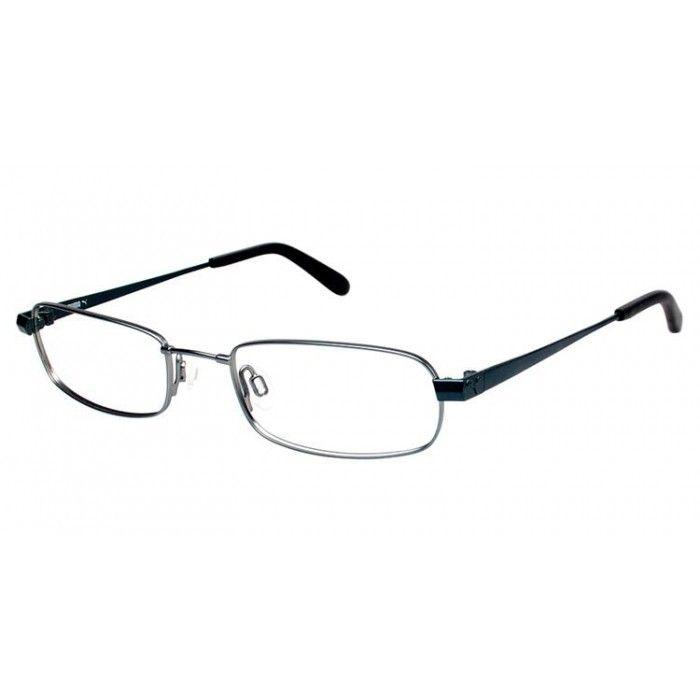 Puma PU 15391 Silver Clear | Puma Eyeglasses | Pinterest | Pumas