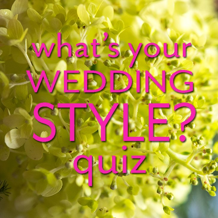 Take our Quiz: What is your Wedding Style? | Wedding dress quiz, Wedding styles, Wedding types