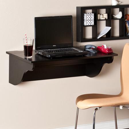 wildon home berino wall floating desk 133 99 paint white rh pinterest co uk